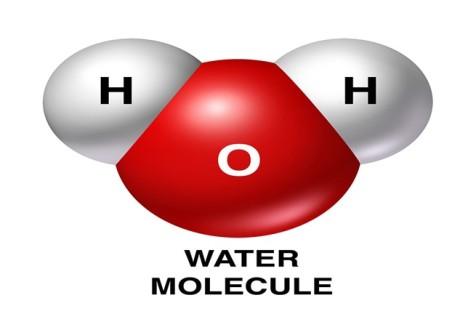 water molekule